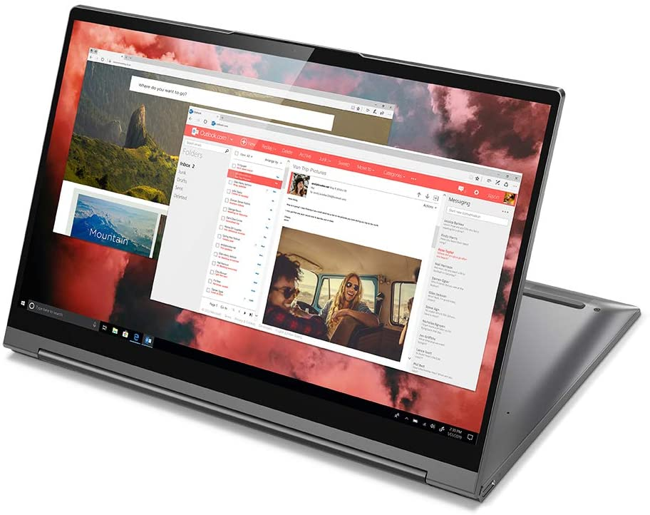 "Notebook Lenovo Yoga 14"" i7 81Q9000EBR"
