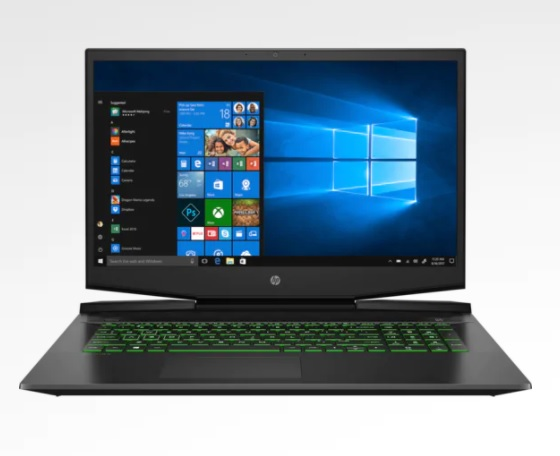 "Notebook HP Pavilion Gaming 17.3"" i7 17-cd0095nr"